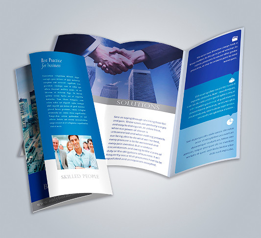 Brochures Gloss Text